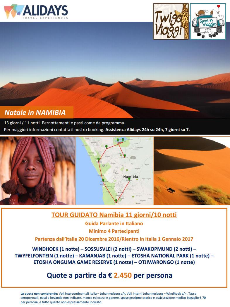 NATALE IN NAMIBIA - 20/12/16 GUIDA IN ITALIANO